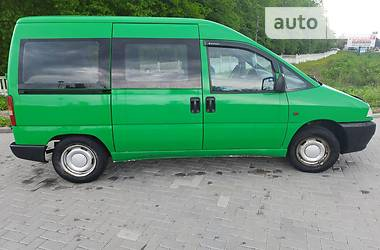 Минивэн Fiat Scudo пасс. 1997 в Житомире