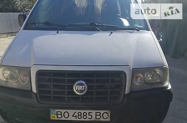 Минивэн Fiat Scudo пасс. 2007 в Шумске