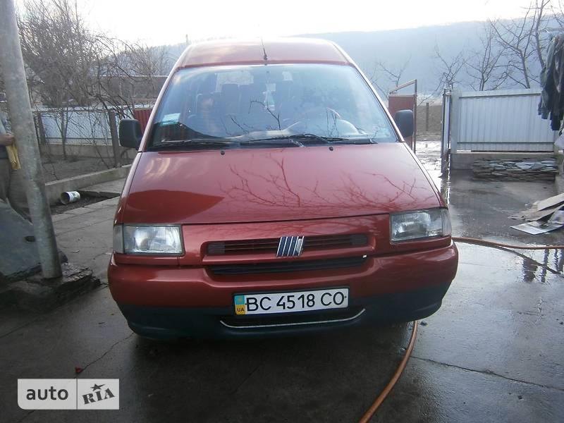 Fiat Scudo пасс. 1997 в Бучаче