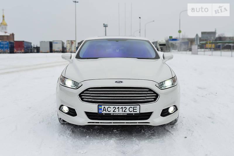 Ford Fusion 2013 року в Луцьку