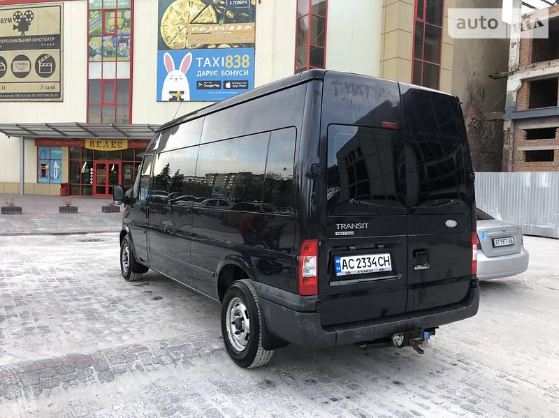 Мінівен Ford Transit пасс. 2012 в Івано-Франківську