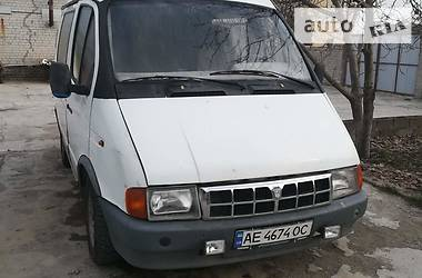 Легковой фургон (до 1,5 т) ГАЗ 2752 Соболь 2003 в Днепре