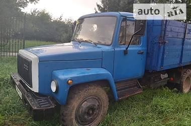 Бортовий ГАЗ 3307 1992 в Городенці