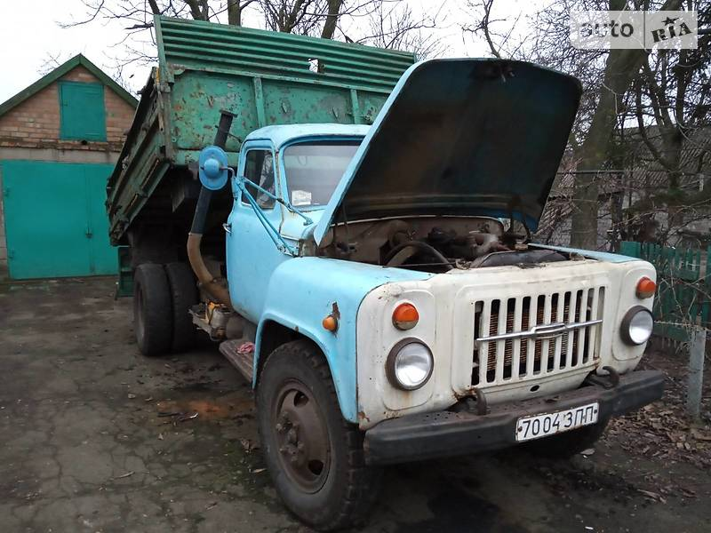 ГАЗ 53 груз. 1991 в Верхнеднепровске