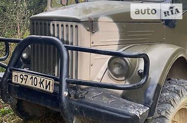 Вахтовый автобус / Кунг ГАЗ 63 1975 в Яремче