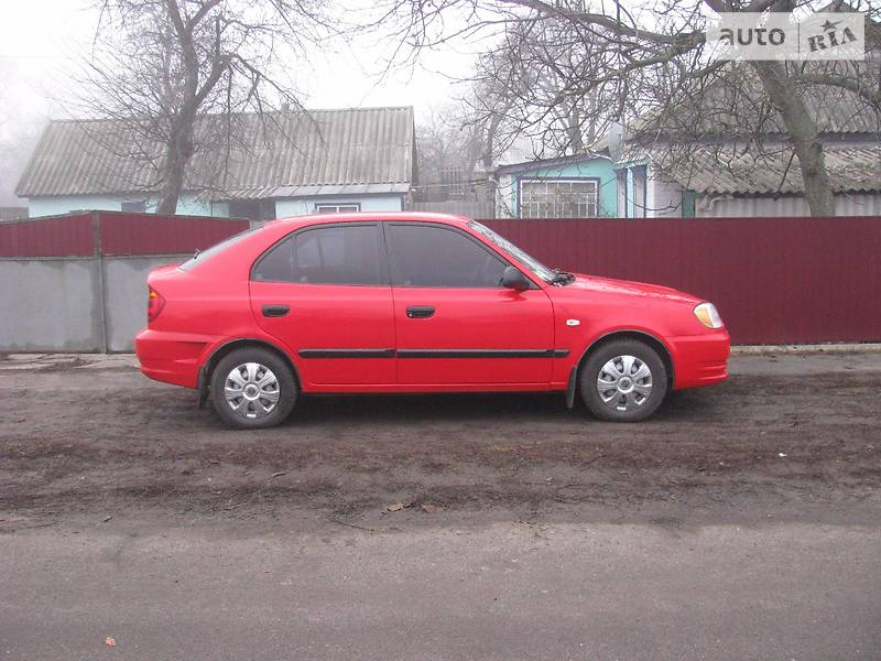 Hyundai Accent 2003 в Миргороде