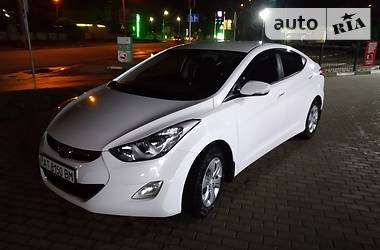 Hyundai Elantra 2013 в Ивано-Франковске