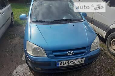 Хэтчбек Hyundai Getz 2003 в Ужгороде