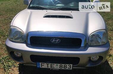 Hyundai Santa FE 2002 в Арцизе
