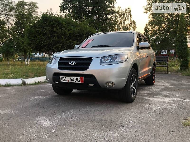 Внедорожник / Кроссовер Hyundai Santa FE 2008 в Ровно