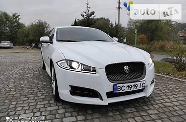 Jaguar XF 2012 в Львове