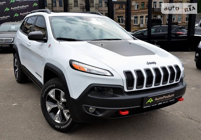 Jeep Cherokee 2016 года в Киеве