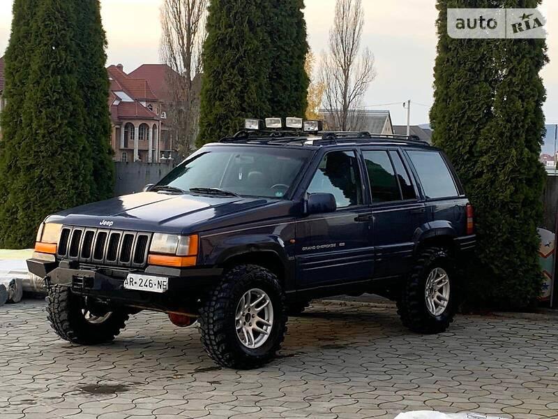 Jeep Grand Cherokee 1998 в Иршаве
