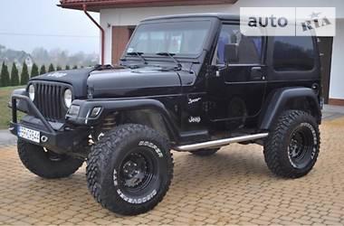 Jeep Wrangler 2000 в Луцке