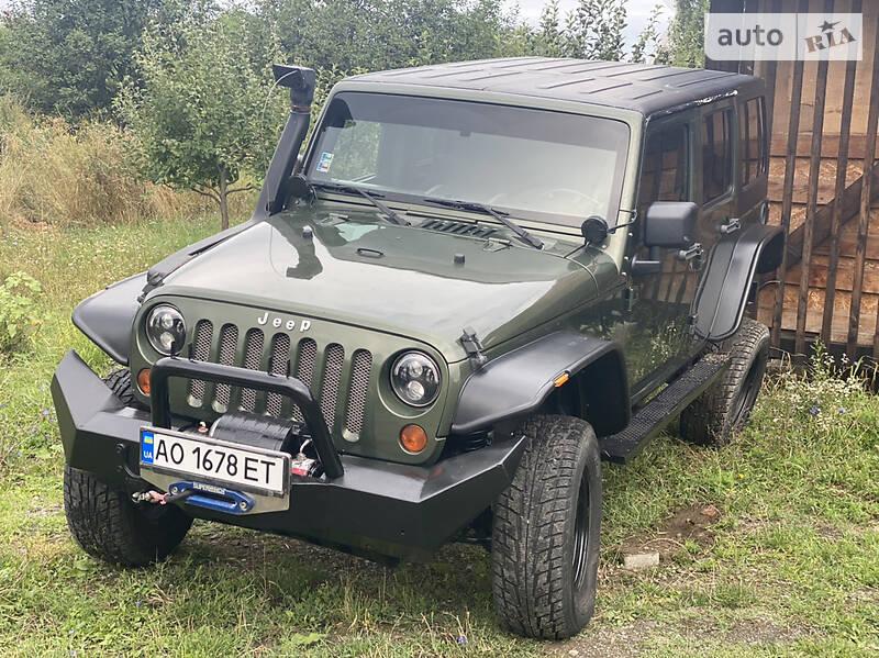Унiверсал Jeep Wrangler 2008 в Ужгороді