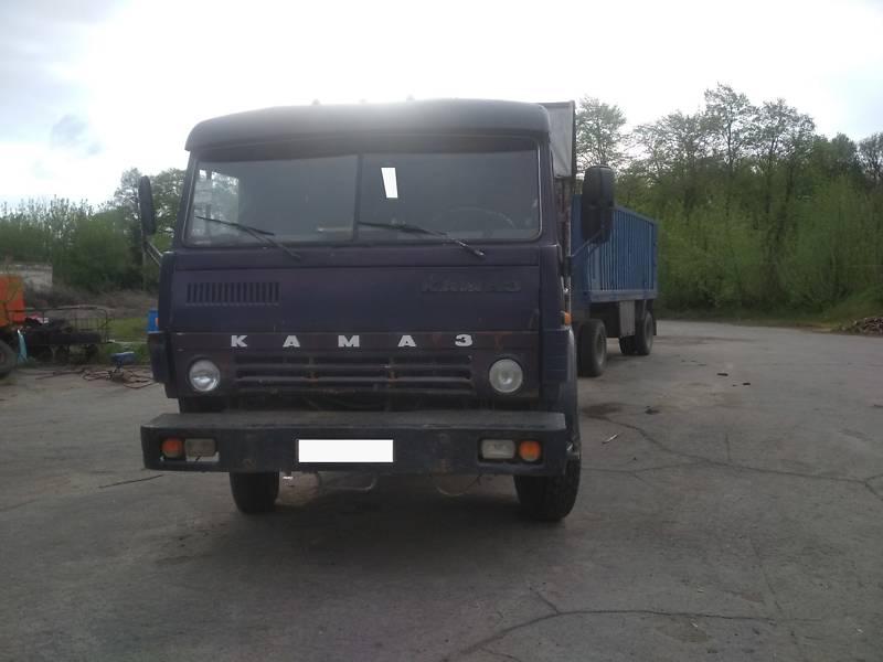 Бортовий КамАЗ 53208 1989 в Звенигородці