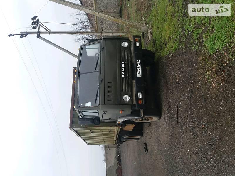 КамАЗ 53212 2016 в Краматорске