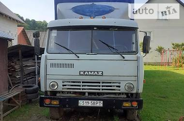 Бортовий КамАЗ 53212 1992 в Тячеві