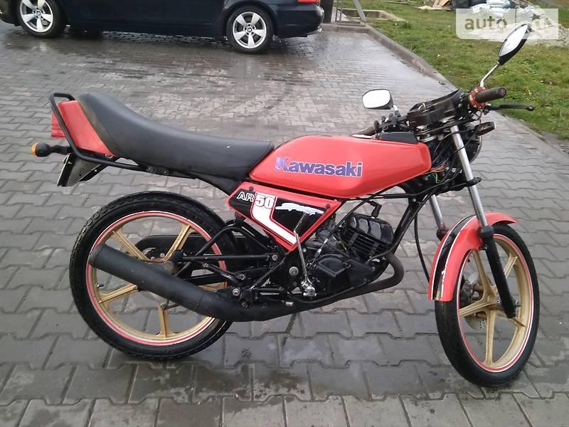 Kawasaki 100 1982 в Самборе