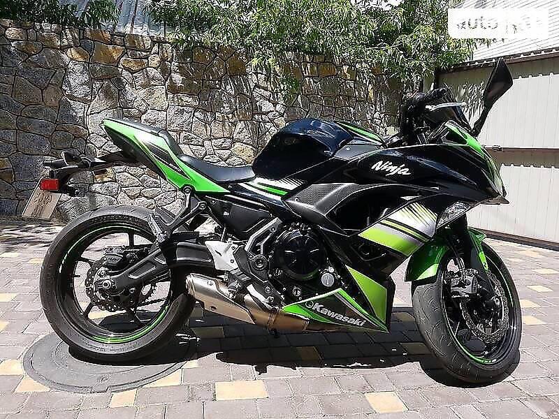 Kawasaki Ninja 650R 2017 в Виннице