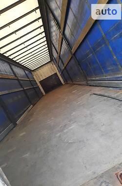Тентований борт (штора) - напівпричіп Krone Profi Liner 2008 в Луцьку