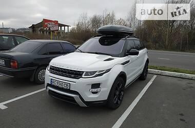 Внедорожник / Кроссовер Land Rover Range Rover Evoque 2014 в Киеве