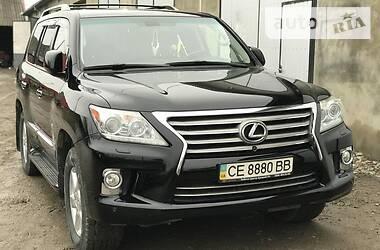 Lexus LX 570 2012 в Черновцах