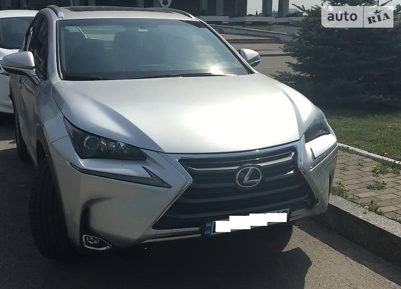 Lexus NX 200 2016 в Львові
