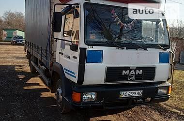 Тентованый MAN 8.163 2001 в Тячеве