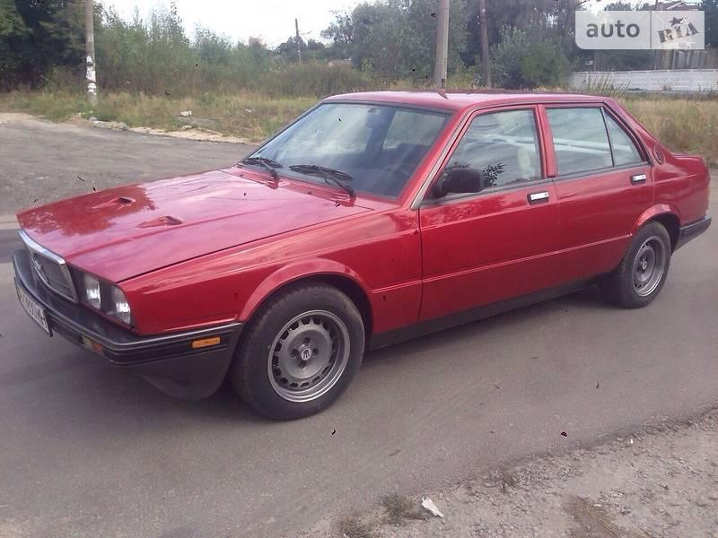 Maserati 420/430 1986 года