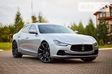 Maserati Ghibli 2014 в Львове