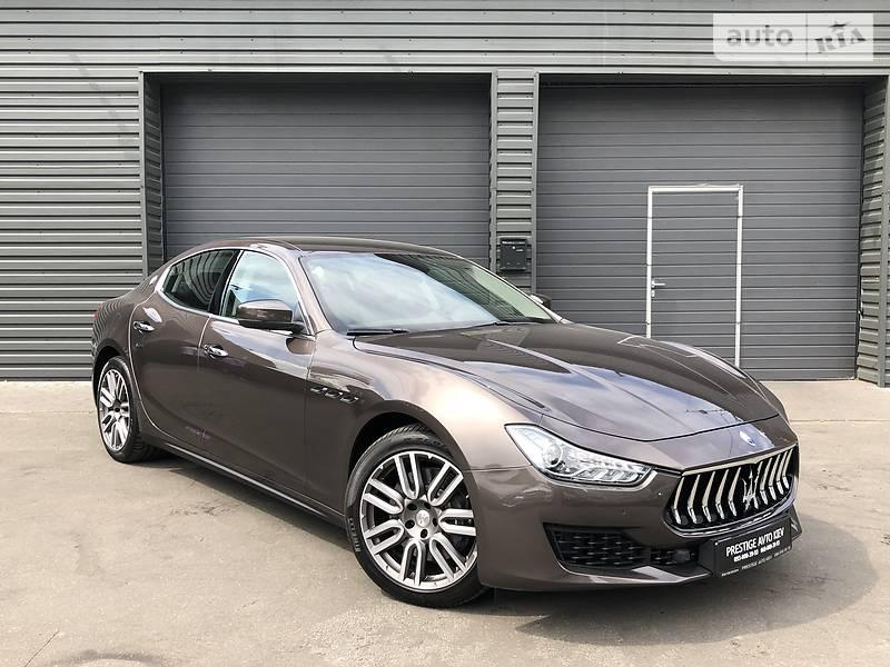 Maserati Ghibli Diesel!Exhaust Activ