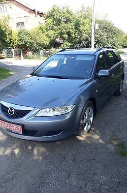 Универсал Mazda 6 2003 в Тернополе