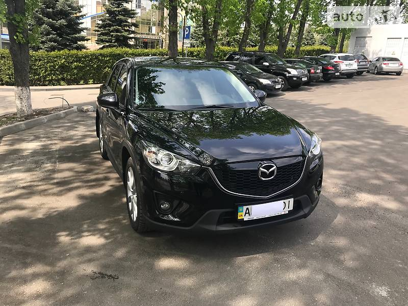 Mazda CX-5 2014 года