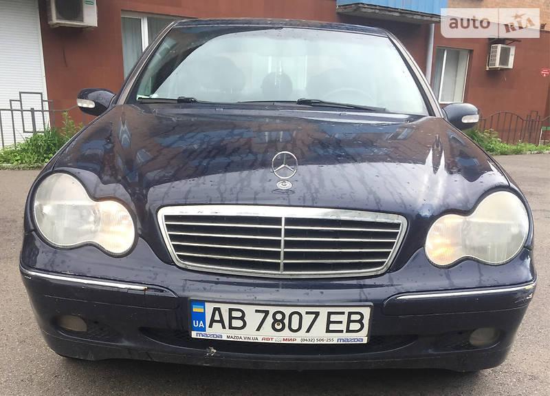 Седан Mercedes-Benz C 200 2000 в Вінниці