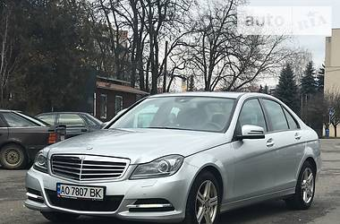 Mercedes-Benz C-Class 2013 в Ужгороде