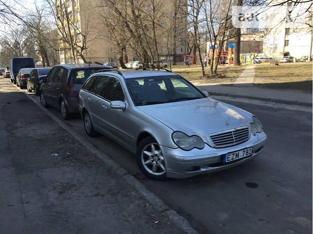 Mercedes-Benz C-Class 2001 в Киеве