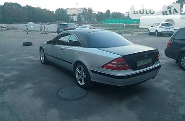 Mercedes-Benz CL 500 2001