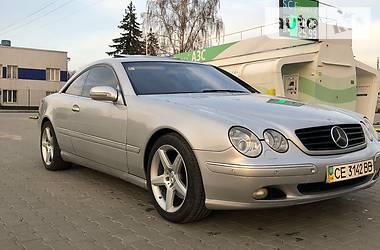Mercedes-Benz CL 500 2001 в Черновцах