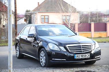 Mercedes-Benz E 220 2012 в Мукачево