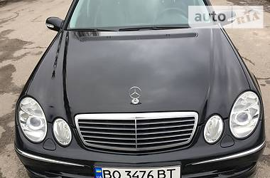 Mercedes-Benz E 220 2005 в Тернополе
