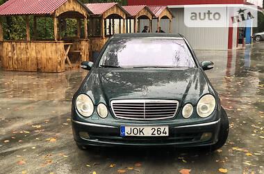 Mercedes-Benz E 220 2003 в Черновцах