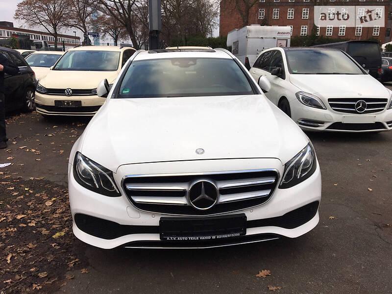 Mercedes-Benz E 220 2017 в Киеве