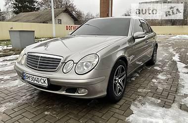 Mercedes-Benz E 220 2003 в Ахтырке