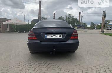 Седан Mercedes-Benz E 220 2002 в Черновцах