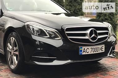 Mercedes-Benz E 250 2014 в Луцке