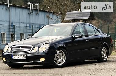 Mercedes-Benz E 270 2003 в Межгорье
