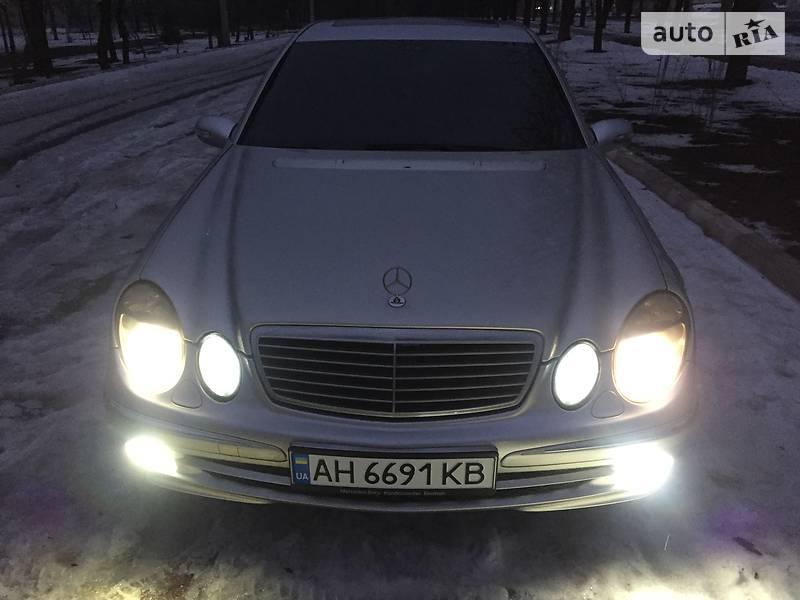 Mercedes E-Class 2003 года в Донецке