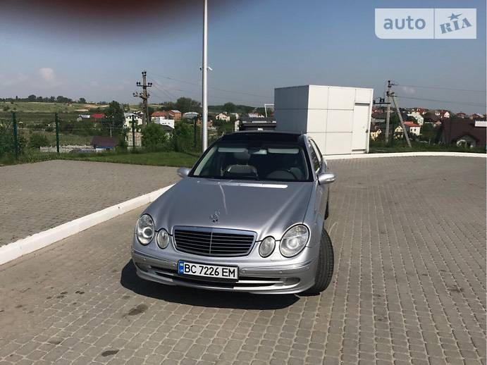 Mercedes-Benz E 500 2002 в Львове