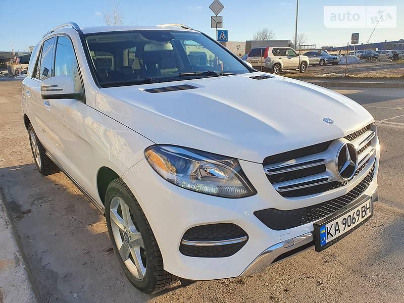 Позашляховик / Кросовер Mercedes-Benz GLE 350 2016 в Києві